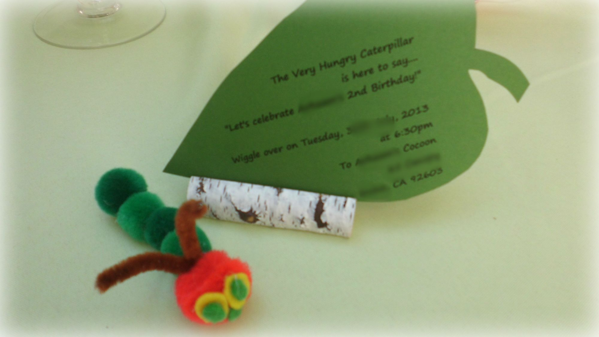 The Very Hungry Caterpillar Birthday Party |